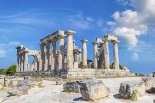 about aegina hotel liberty II aphaia temple